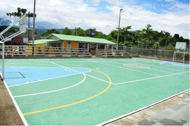 Vereda el Guineo (Villagarzòn), con más oportunidades para el deporte y la cultura.