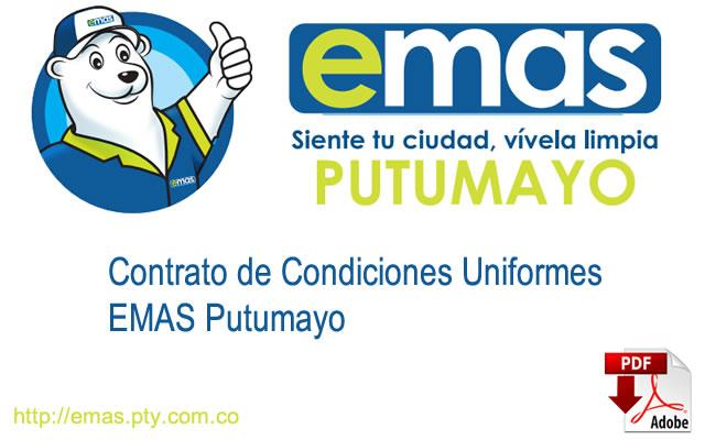 EMAS Putumayo – Contrato de Condiciones Uniformes