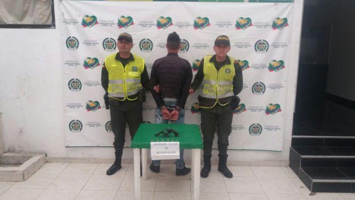 Capturados dos hombres en Sibundoy por porte de armas de fuego