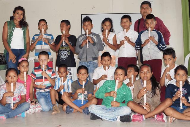 Rivera y Florez – Yamaha, apoyan la iniciación musical a través del programa Becas Tokando