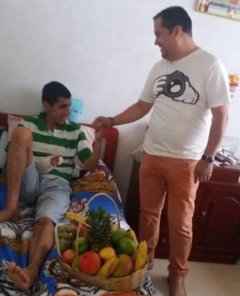 Gestos humanos de corazón por Sibundoy