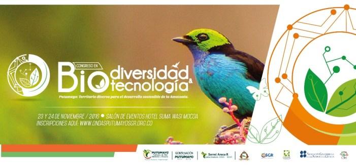 En Mocoa, Congreso de Biodiversidad y Tecnología
