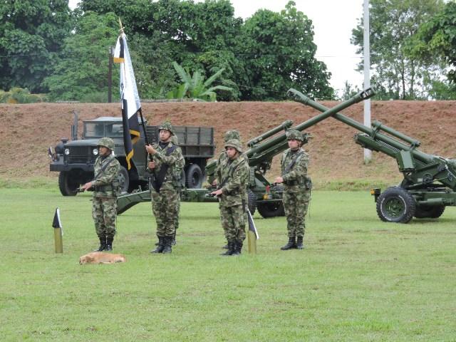 Brigada de Selva N° 27 conmemora el día de la Artillería