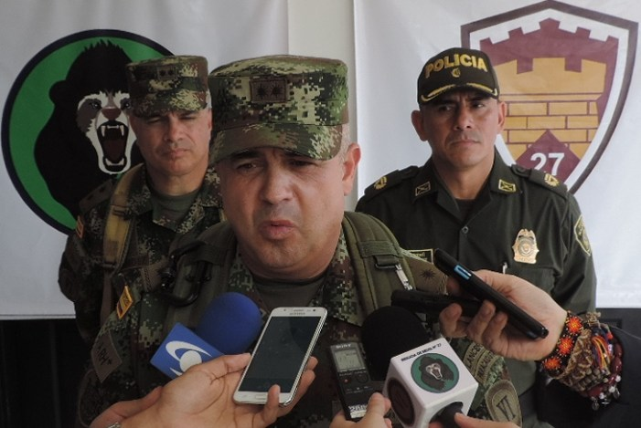 Comandante de la VI División del Ejercito da declaraciones sobre la muerte del líder asesinado en Puerto Asís