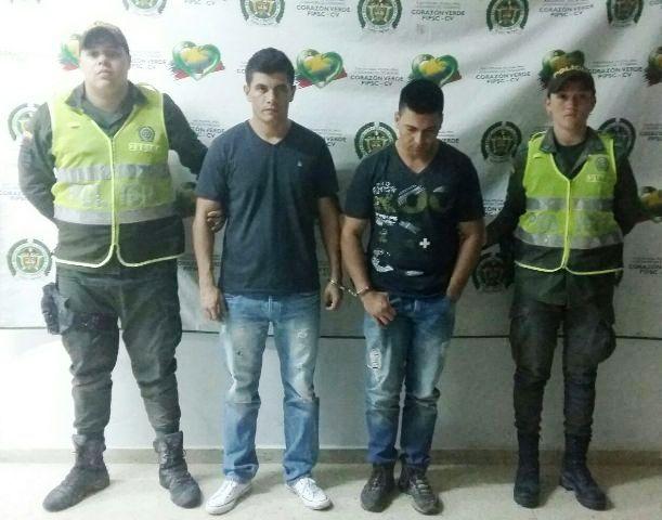 Capturados reconocidos apartamenteros del Huila en Puerto Asís