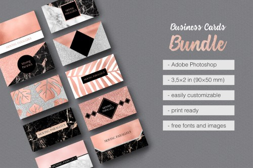 Medium Of Photo Business Cards