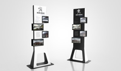 COLLECTION : Floor Stand Display on Behance
