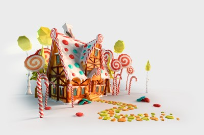 LowPoly fairytales on Behance