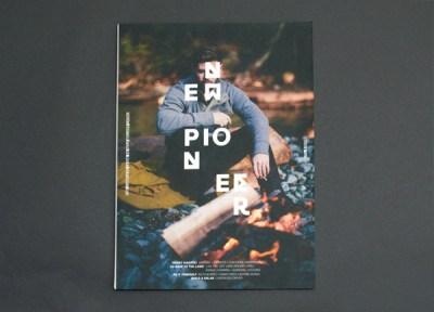New Pioneer Magazine Rebrand on Behance