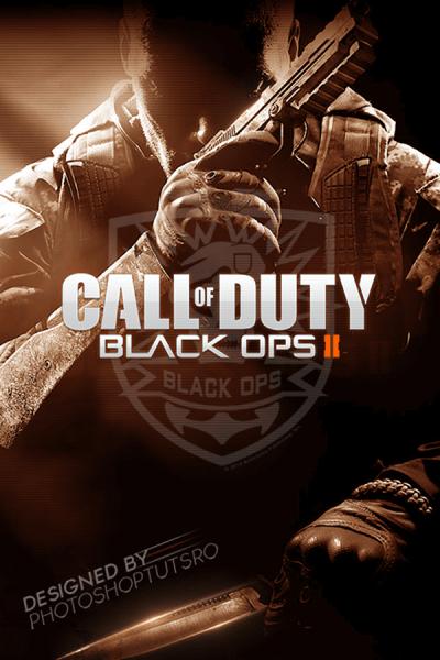 Call of Duty : Black Ops 2 Wallpaper on Behance