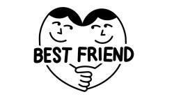 Divine Friend Logo On Behance Friend S Tumblr Friend S Poses