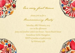 Supple Lobo Housewarming Party Invite On Behance This Invite Designed Ly Sun Lit Home Afternoon Housewarming Party Draws Inspirationfrom Warm Interiors