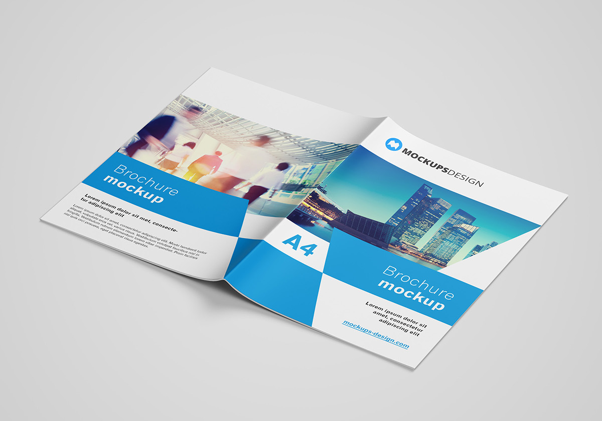 Free A4 brochure mockup on Behance Free A4 brochure mockup  CLICK ABOVE LINK TO DOWNLOAD
