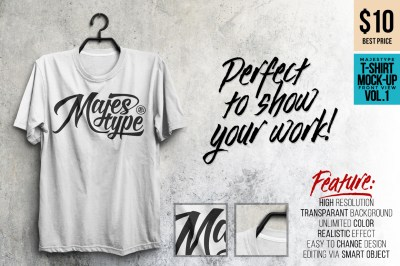 MJT Realistic T-Shirt MockUp on Behance