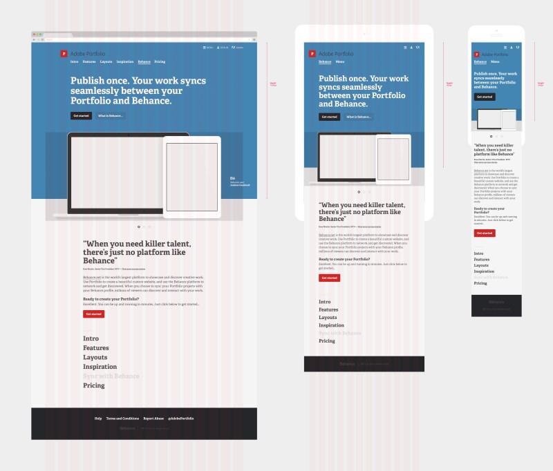 Large Of Adobe Portfolio Examples