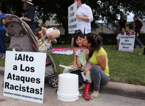 Immigrant processing centers focus of protesters