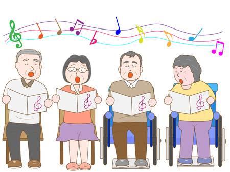 50556126-高齢者の合唱
