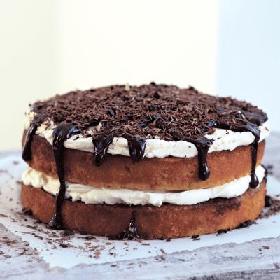 Hazlenut Tiramisu Cake