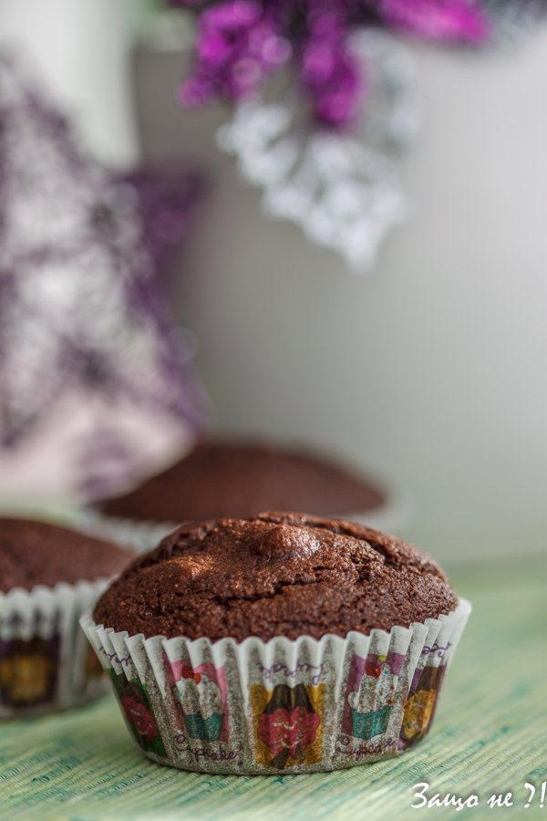 Кокосово-шоколадови мъфини