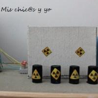 Maqueta para el colegio de una central nuclear. Proyecto ESO