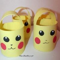 Dulceros en forma de Pikachu