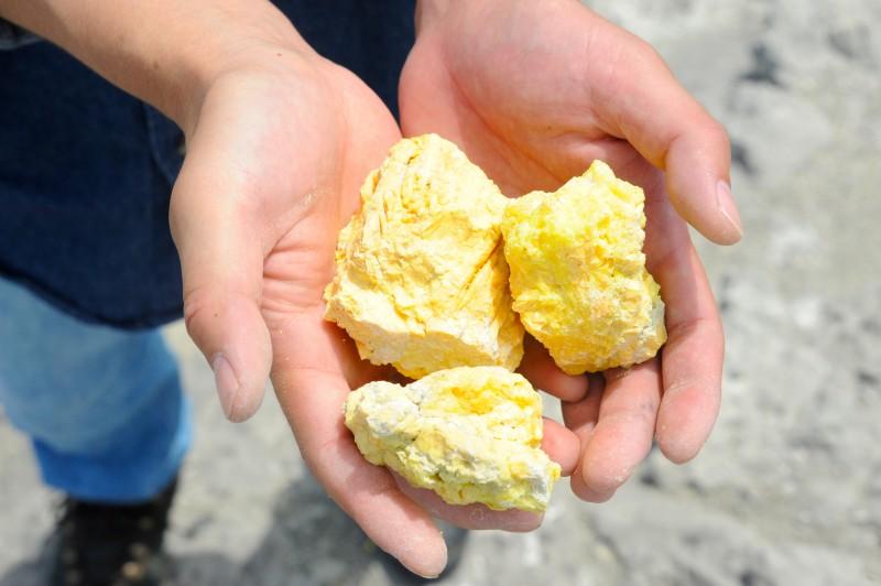 1天然硫黄2