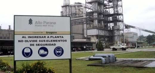 Derrame de ácido en planta de Alto Paraná dejó herido a tres trabajadores tercerizados