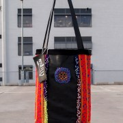 miss billy bag bags leather recycle recycled embellished color colorful ethnic tribal kuchi