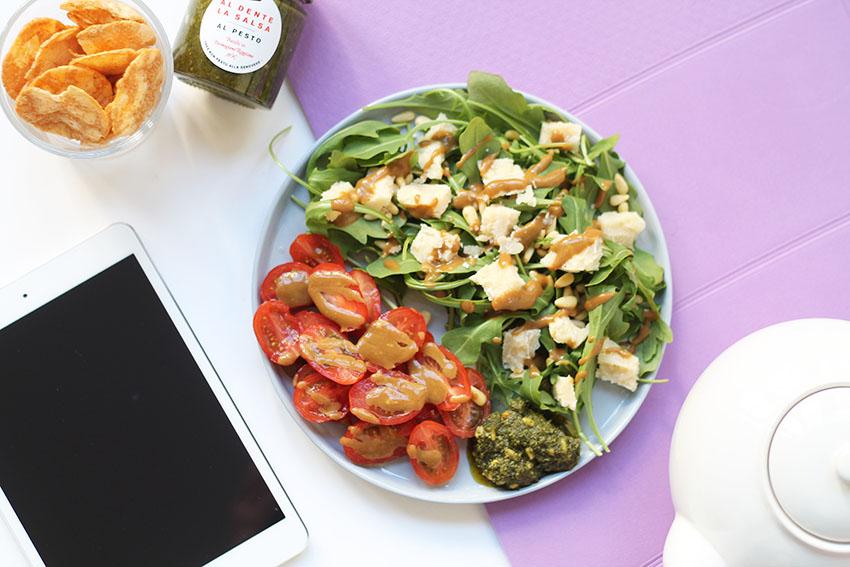 Salade italienne post Yoga 6