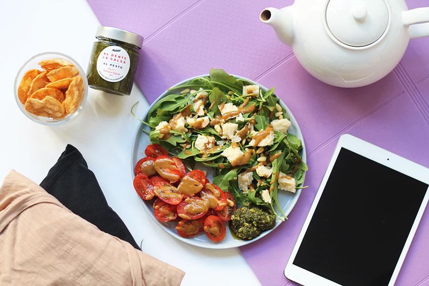 salade italienne post yoga 4