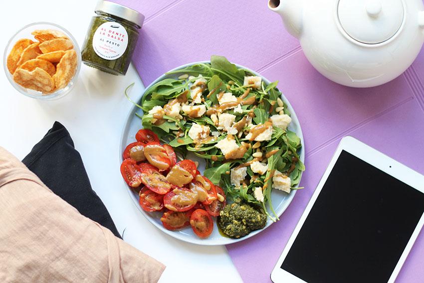 salade italienne post yoga 5