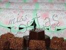 Baúl de trufas y amaranto con chocolate