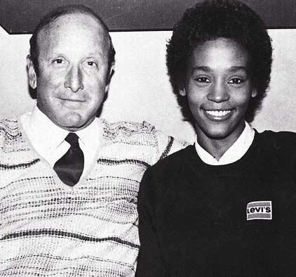 whitney houston and clive davis in the 80s