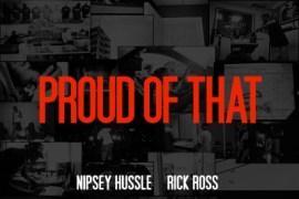 proud of that artwork nispey hussle