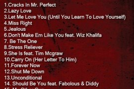 red tracklist