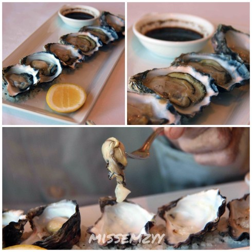 Oysters Selection