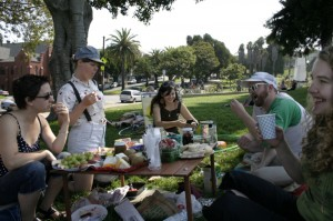 One more day: Sunday afternoon in Dolores Park. Soon this will be me.