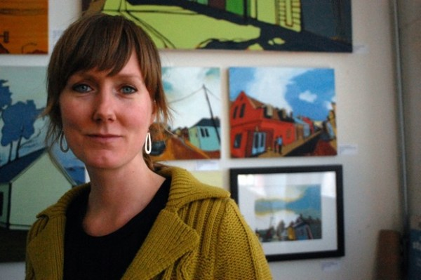 Beth Schuenemann shows streetscapes from the Mission, Bernal and New Orleans.