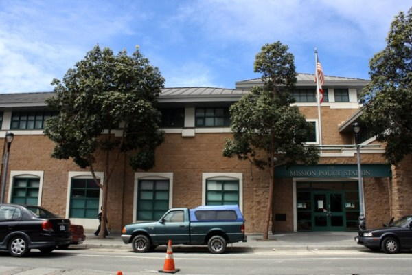 The Mission Police Station- built on the site of an old Pepsi bottling plant.
