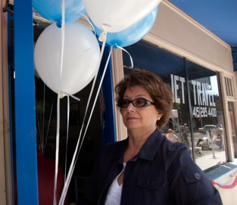 Sylvia Arce owner of Jet International Travel on 22nd Street.