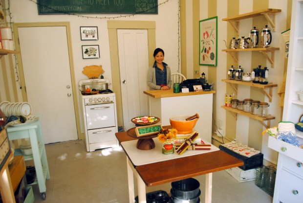 First time storeowner Donna Suh opened her boutique kitchen shop in November on 22nd Street.