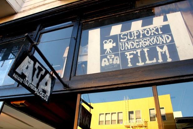 ATA's storefront on Valencia, near 21st Street.