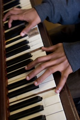 The piano hands of Spurgeon Wright III, 12.