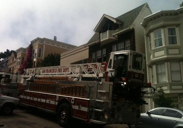 Fire on Cumberland