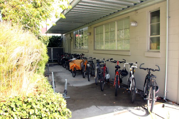 500 Treat Avenue provides space for bike parking.