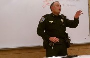 Mission District Police Captain Robert Moser says pedestrians need to be aware of their surroundings, especially when using an iPhone.