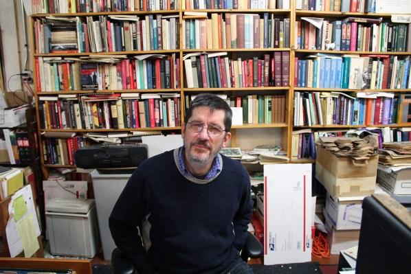 Bolerium books founder and owner John Durham.
