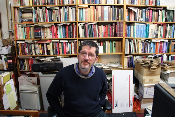 Bolerium books founder and owner John Durham.