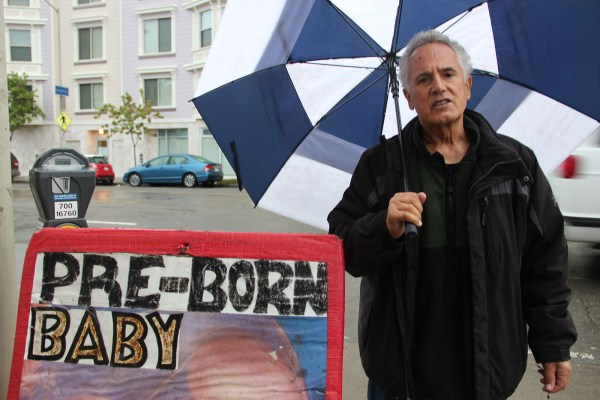 Ross Foti has been an anti-abortion activist for more than 20 years. Photo by Carly Nairn.