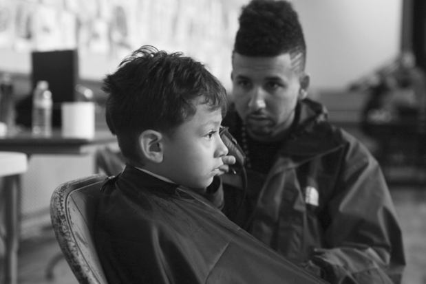 Local hairstylist and DJ works his magic at a
